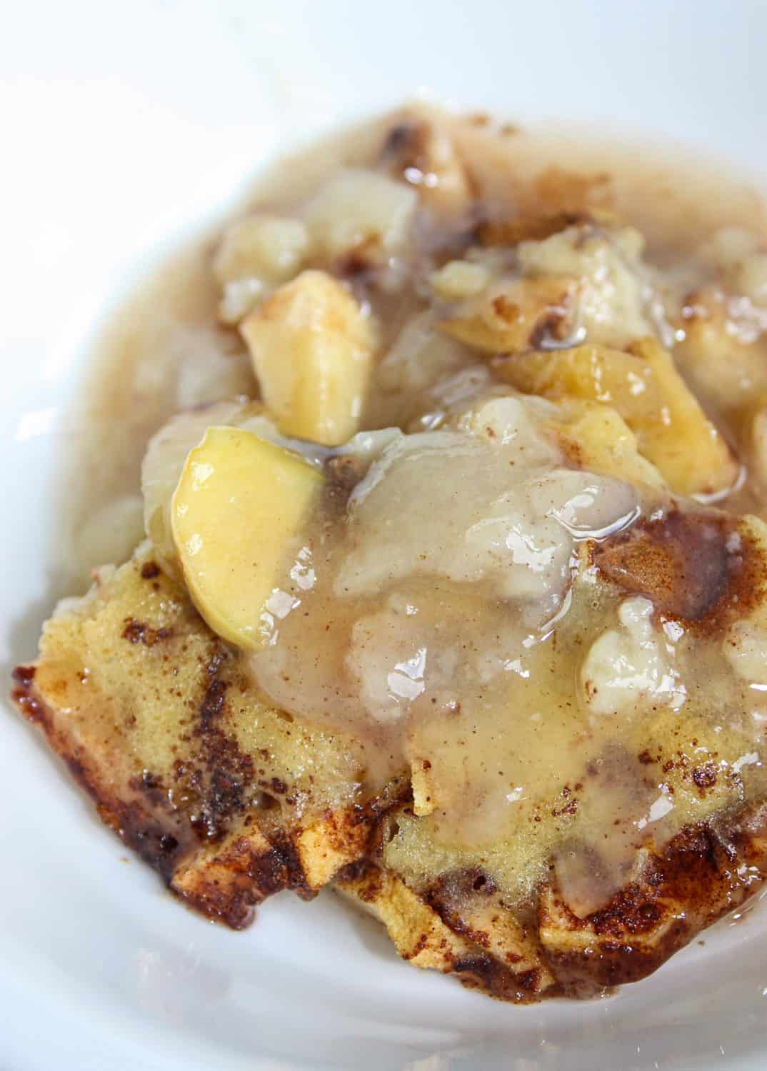 It is apple picking time on the farm and it is a very bountiful year. Apple Pudding is one delicious and easy way to make sure no apples go to waste!