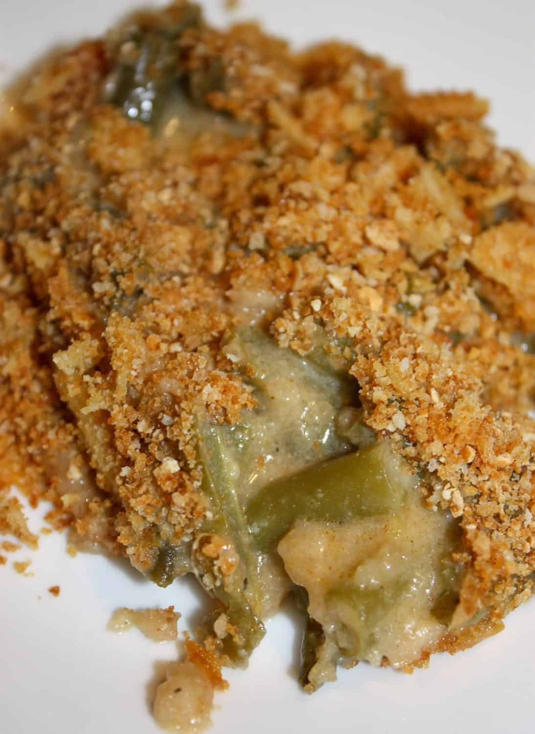 Green Bean Casserole is a traditional side dish that is simple to make. So easy and delicious that you can serve it up any day of the week and not just at a holiday meal.