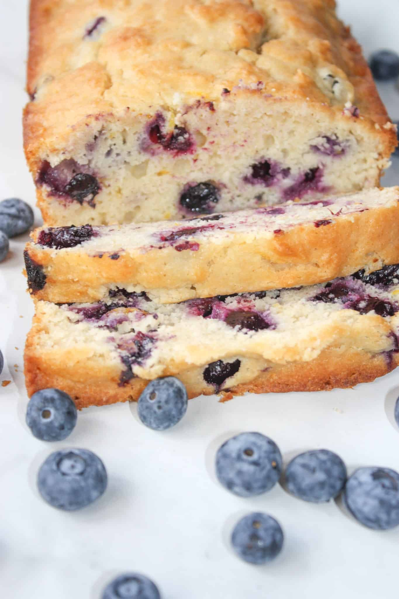 Lemon Blueberry Loaf is a tasty blend of citrus and seasonal fruit. This gluten free bread will delight your taste buds with its refreshing flavours.