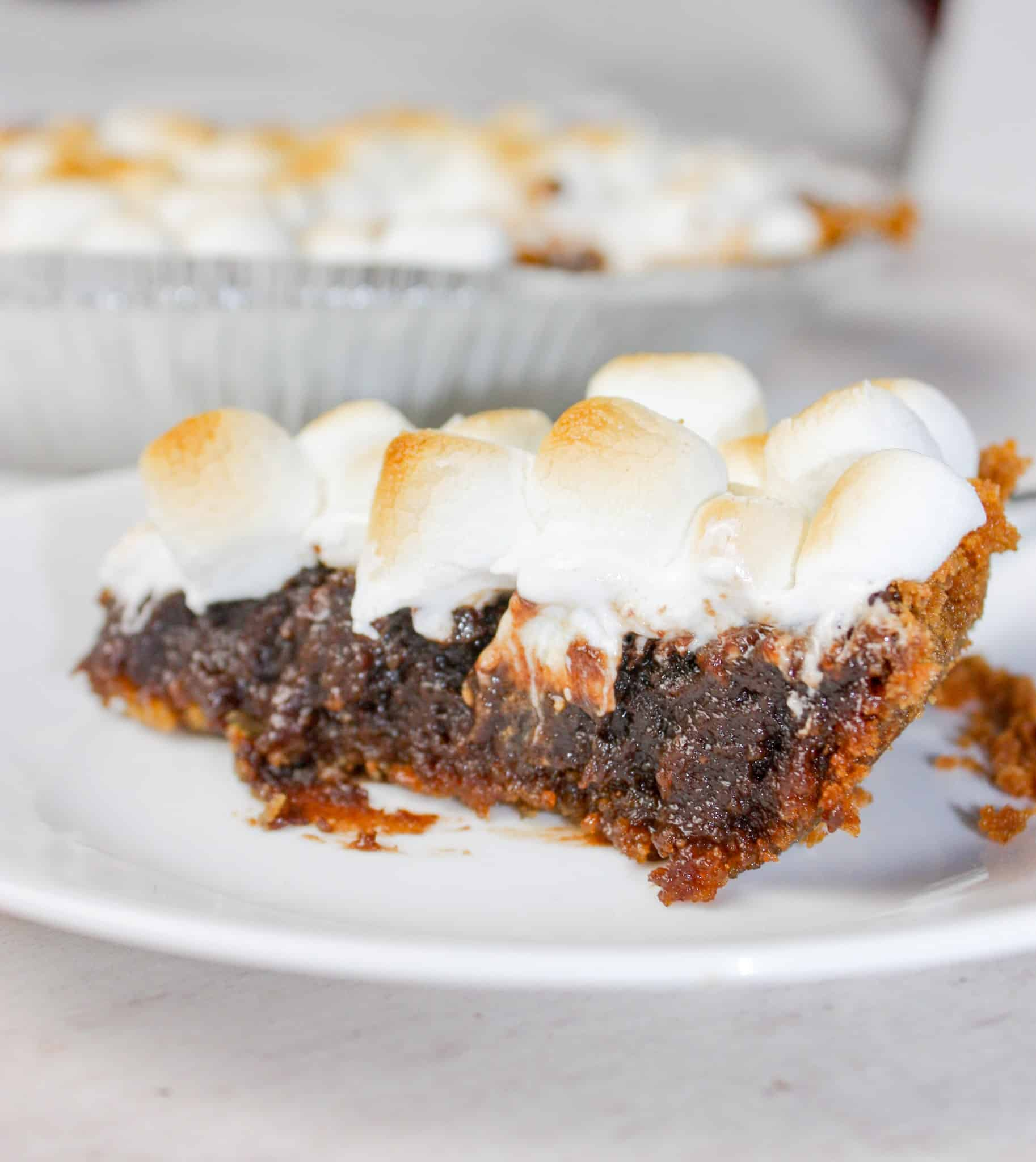S'mores Pie is a delicious dessert that will delight the taste buds of young and old alike.